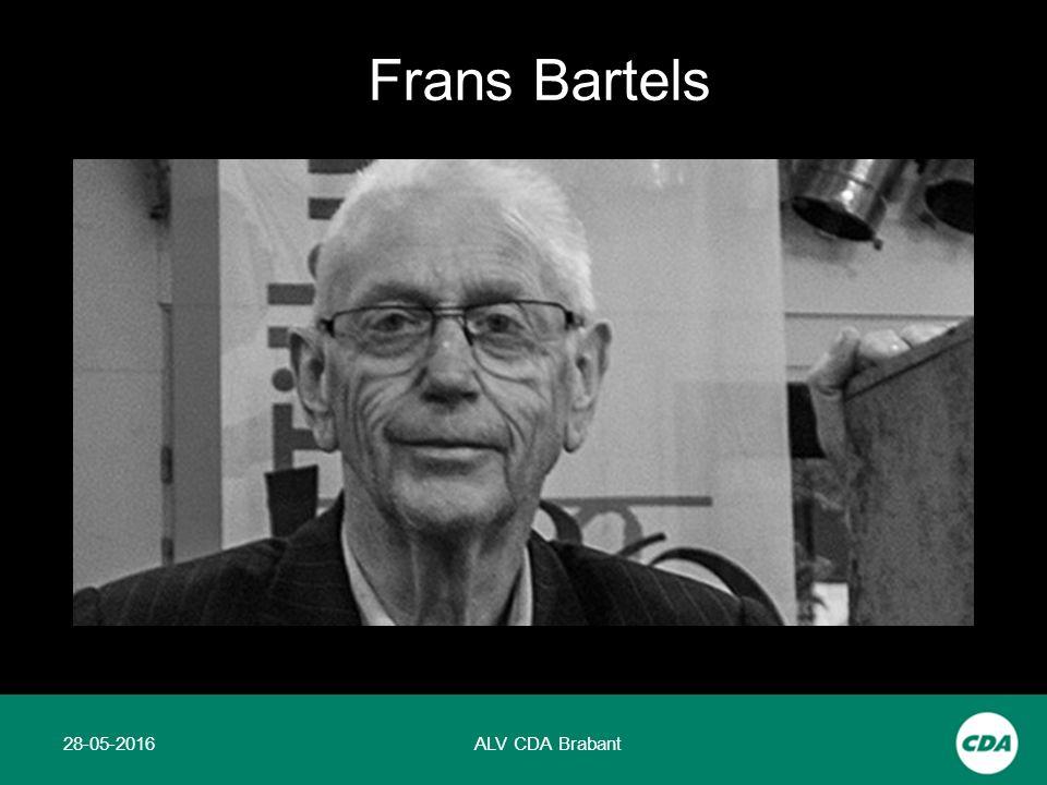 28-05-2016ALV CDA Brabant Frans Bartels