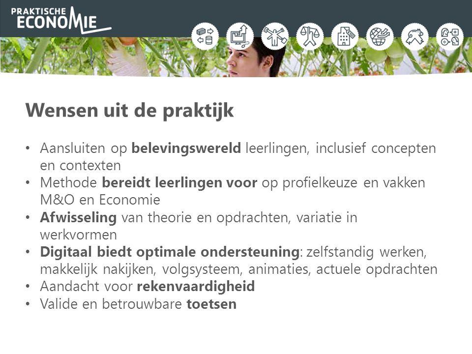 Planning en urentabel Leerjaar 3: gemiddeld 2 uur per week Kan ook in leerjaar 2 Spreiden over leerjaar 2 en 3 ook mogelijk www.praktischeeconomie.nl/onderbouw