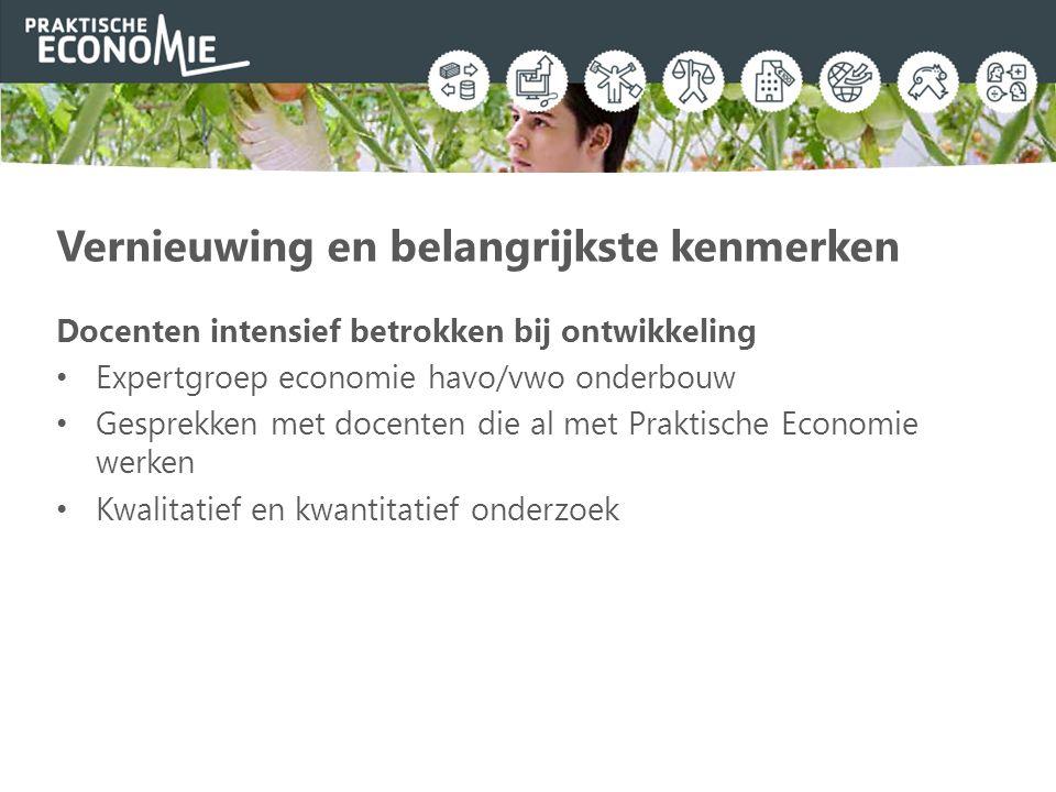 Leerlijn Hier worden de economische begrippen uitgelegd, leer je de theorie en maak je de bijbehorende vragen en opdrachten.