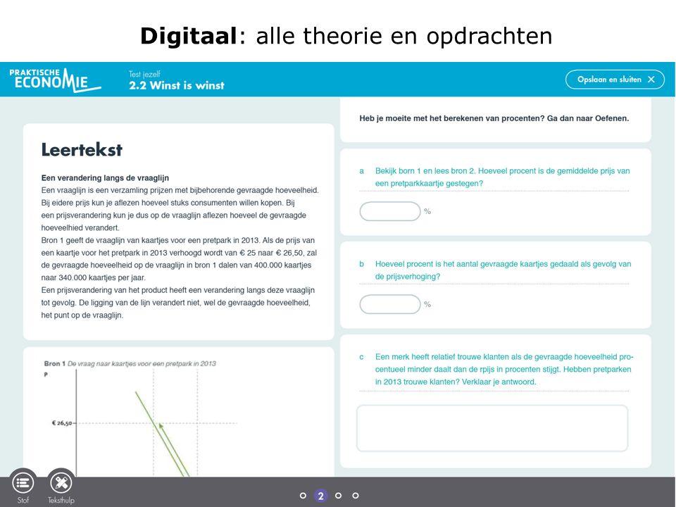 Digitaal: alle theorie en opdrachten