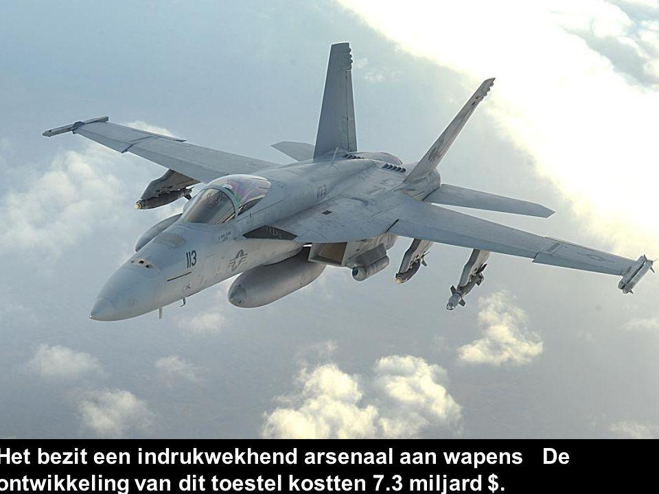 5. Super Hornet De 'Superhorzel' is een gevechtsvliegtuig van Boeing.