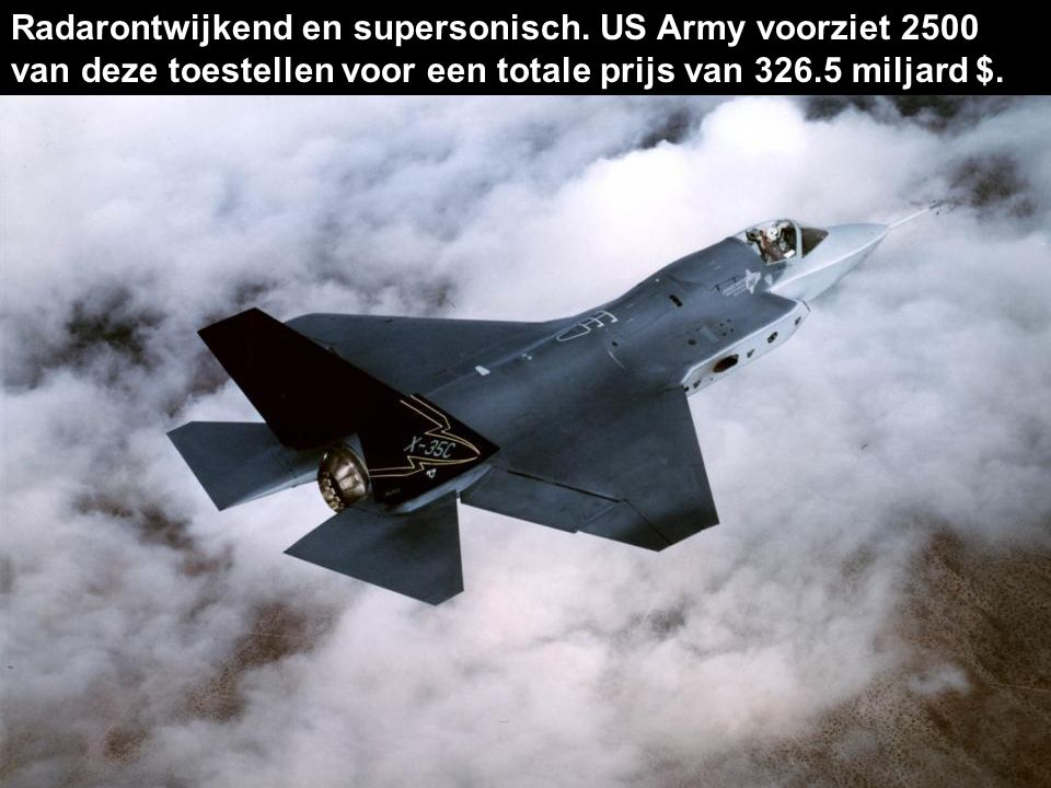 Deze F-35 'Lightning II' jet is momenteel nog in ontwikkeling. 1. Joint Strike Fighter