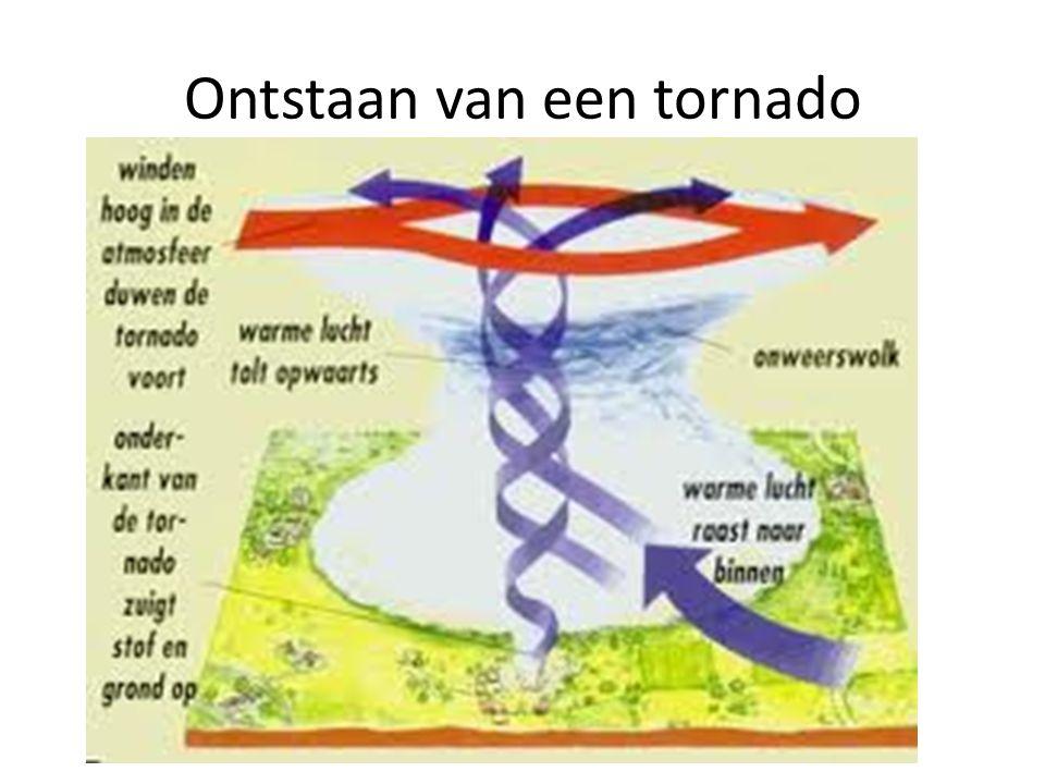 Ontstaan van een tornado