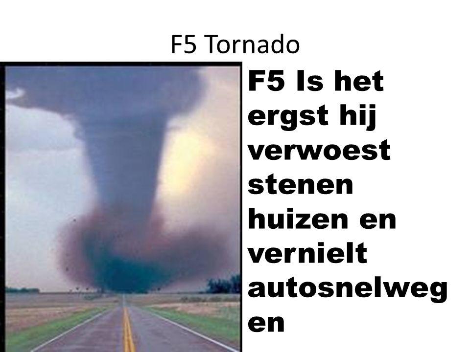 Wat moet je doen als er een tornado komt!.