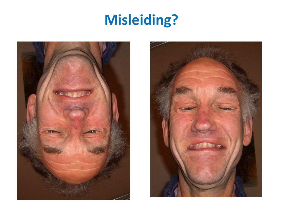 Wat zie je als je deze foto rechtopzet (180 o draait).