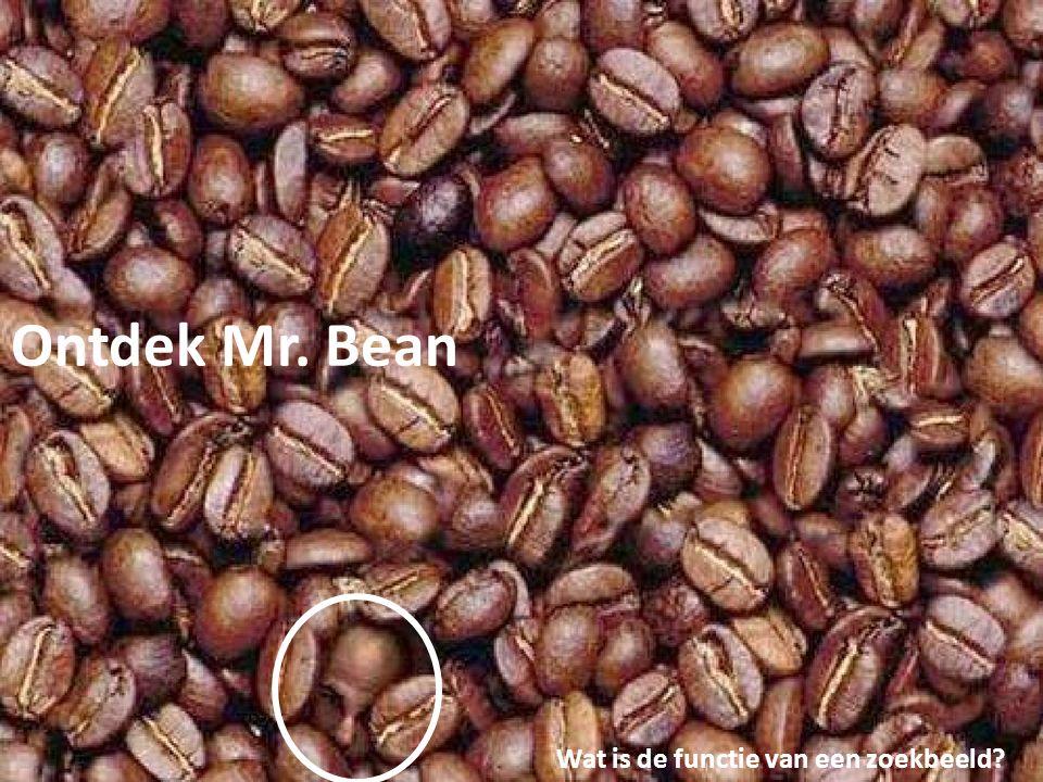 Ontdek Mr. Bean Wat is de functie van een zoekbeeld