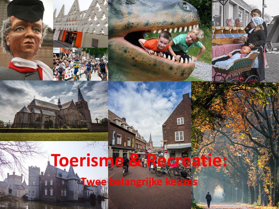 Toerisme & Recreatie: Twee belangrijke keuzes
