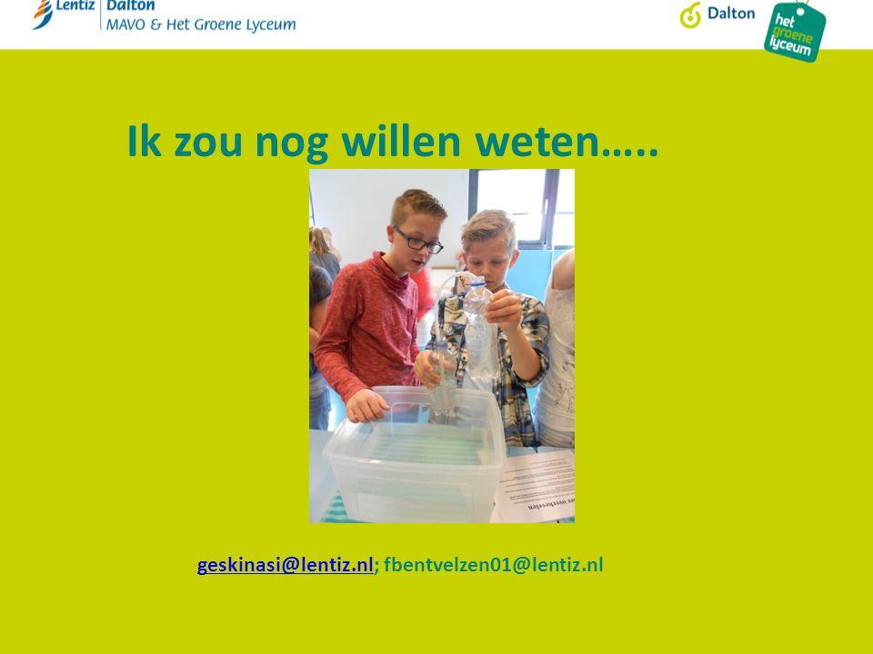 Ik zou nog willen weten….. geskinasi@lentiz.nlgeskinasi@lentiz.nl; fbentvelzen01@lentiz.nl