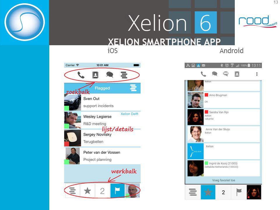 13 XELION SMARTPHONE APP iOSAndroid