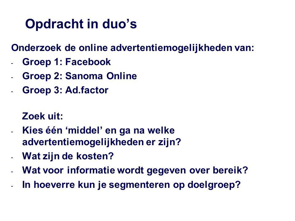 Online advertising Standaardbannerformaten A.Full banner B.