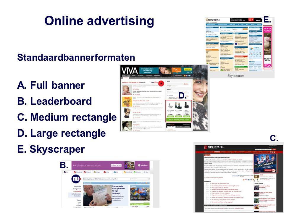 Display advertising High impact en rich media uitingen A.