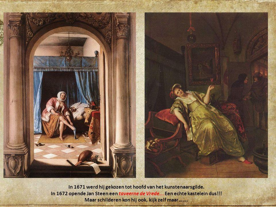 In 1669 was zijn financiële situatie verbeterd maar in het voorjaar stierf zijn vrouw.