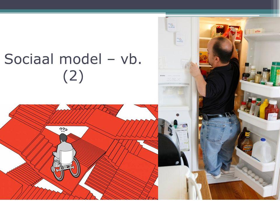 Sociaal model – vb. (2)