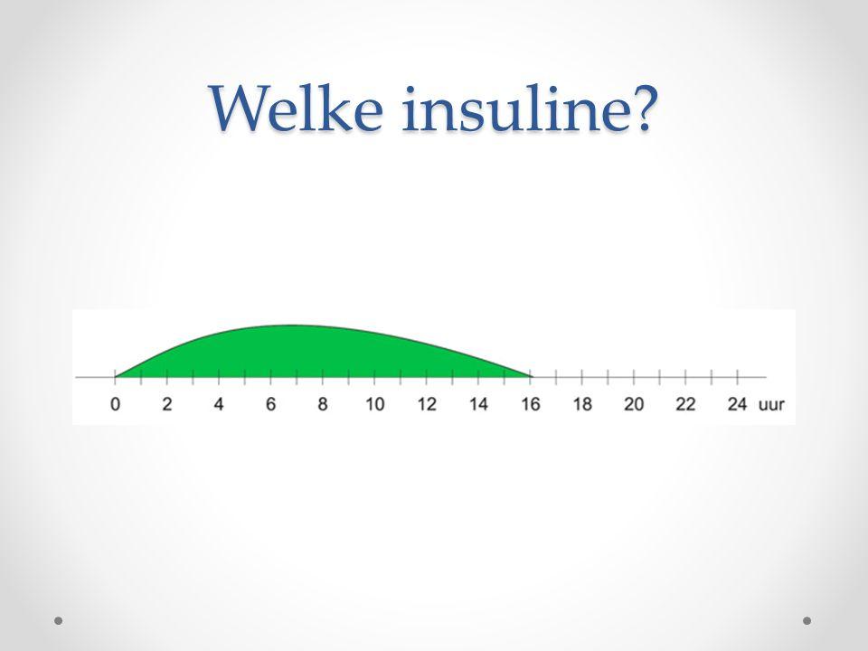Welke insuline?