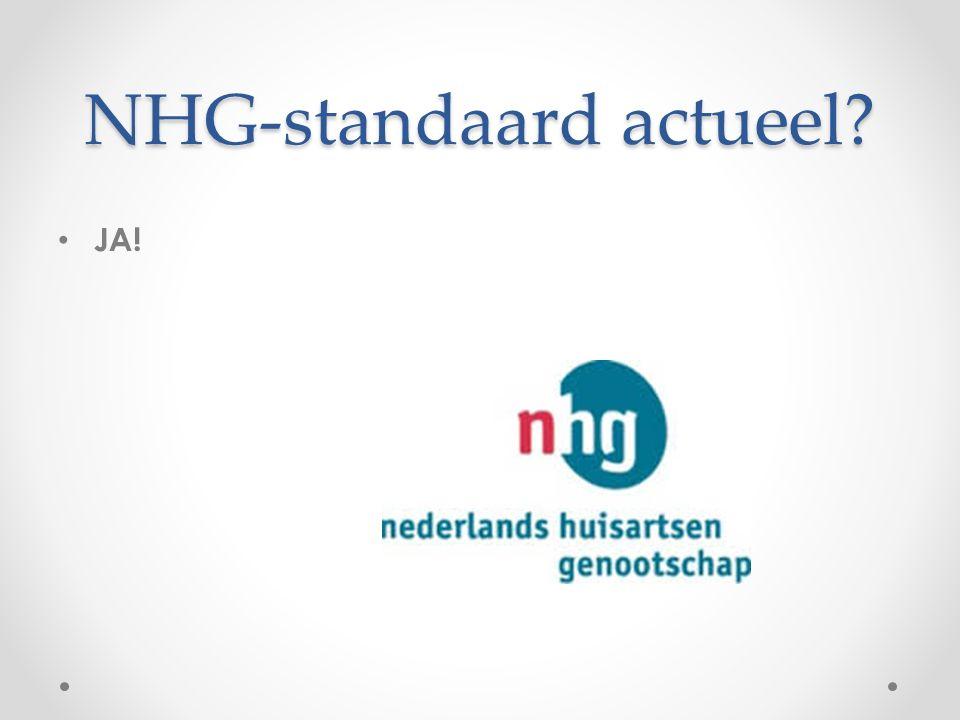NHG-standaard actueel? JA!