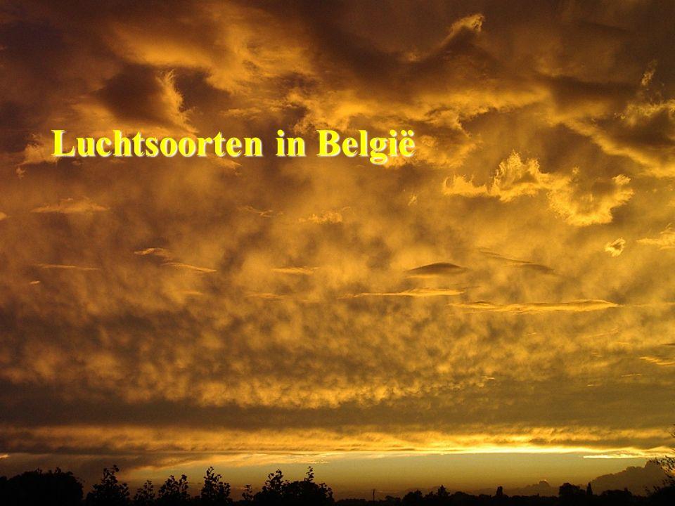 Luchtsoorten in België Luchtsoorten in België
