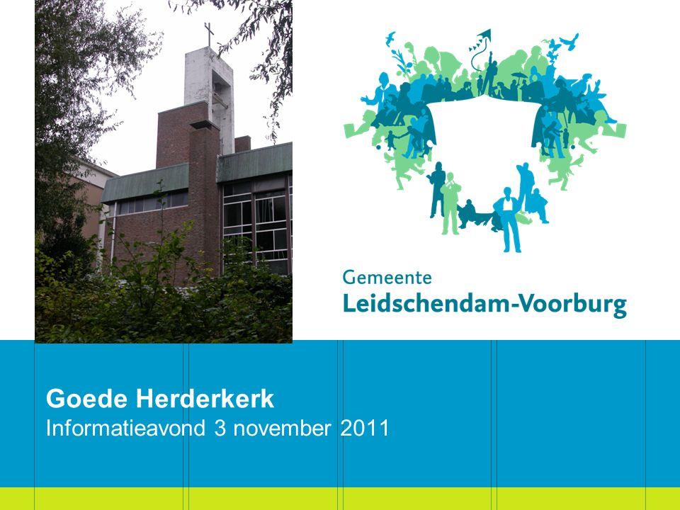 Goede Herderkerk Informatieavond 3 november 2011