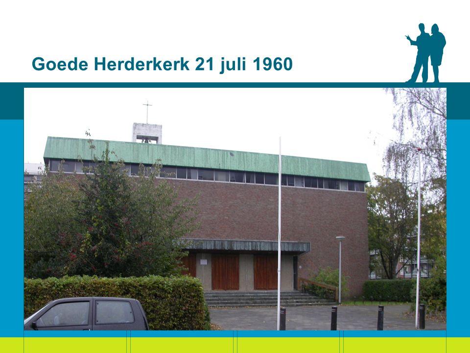 Goede Herderkerk 21 juli 1960