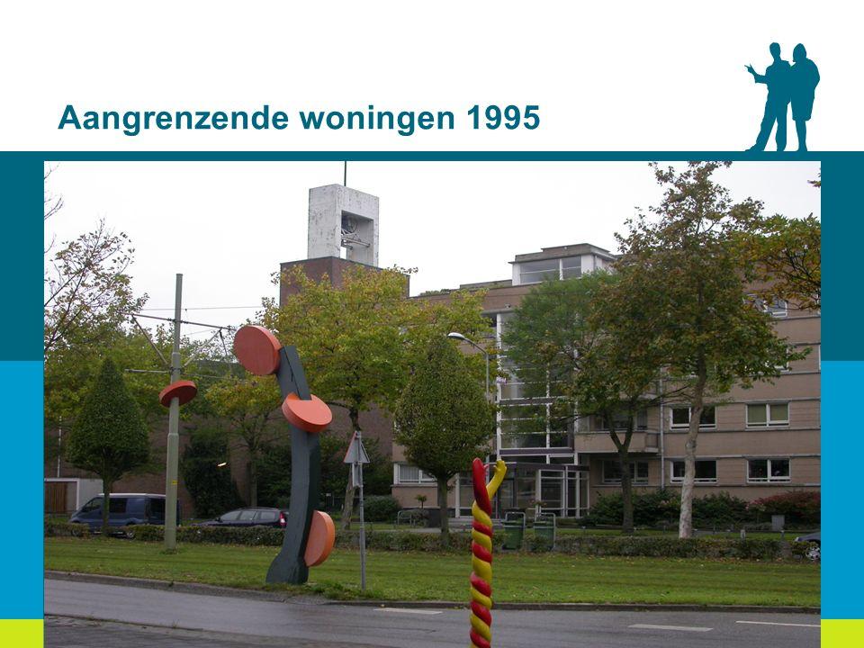 Aangrenzende woningen 1995
