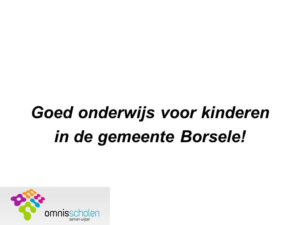 Goed onderwijs voor kinderen in de gemeente Borsele!