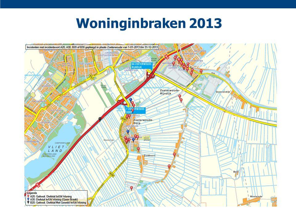 Woninginbraken 2013