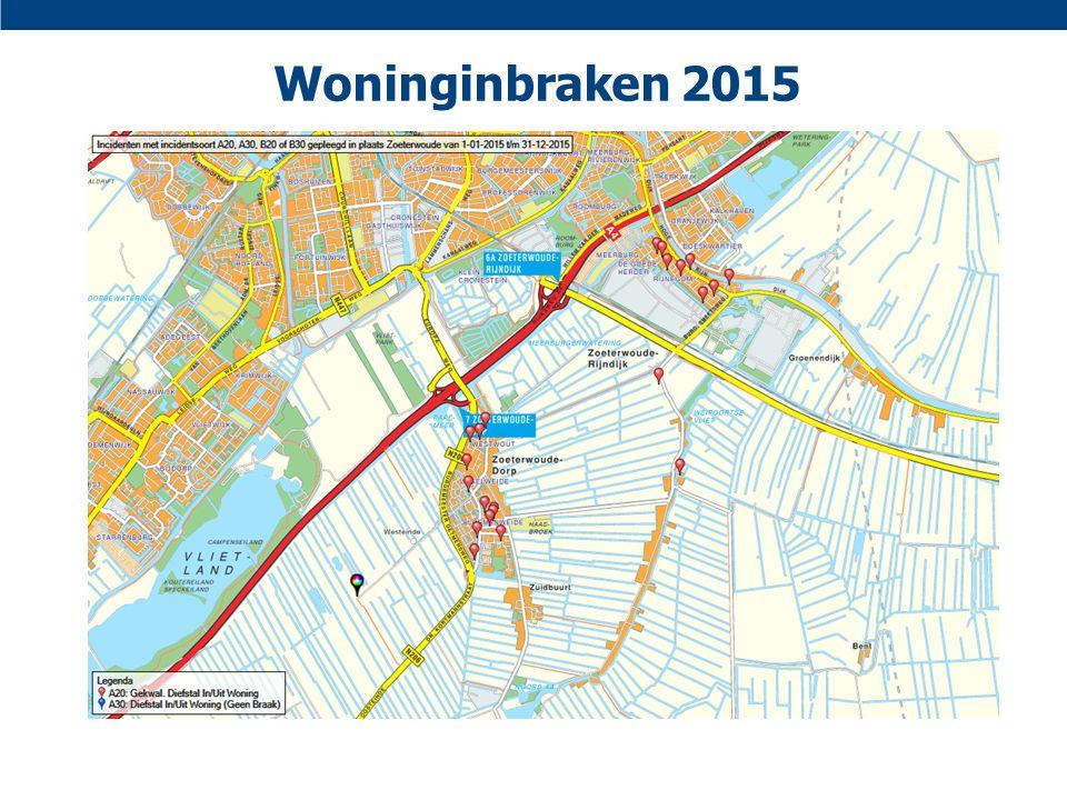 Woninginbraken 2015