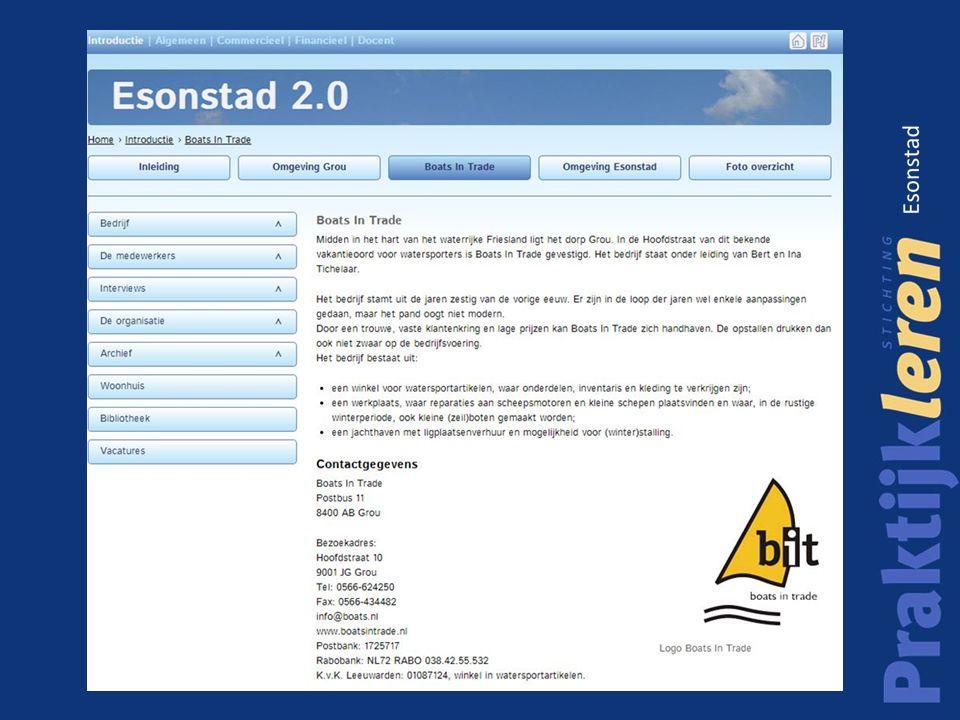 Virtuele kantoor omgeving Esonstad