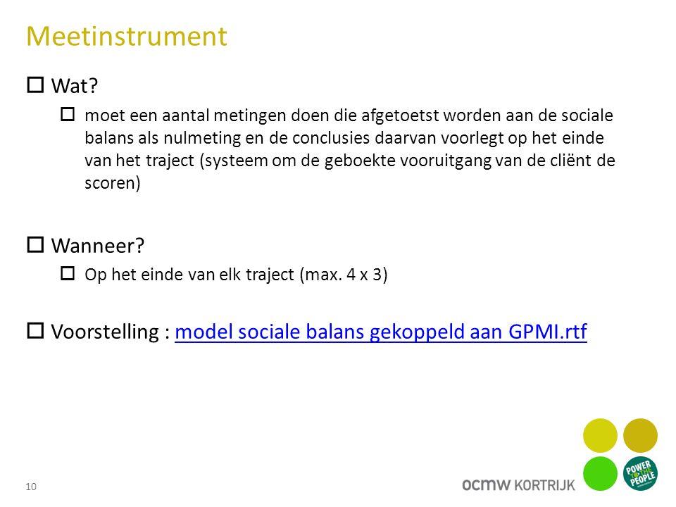 Meetinstrument  Wat.