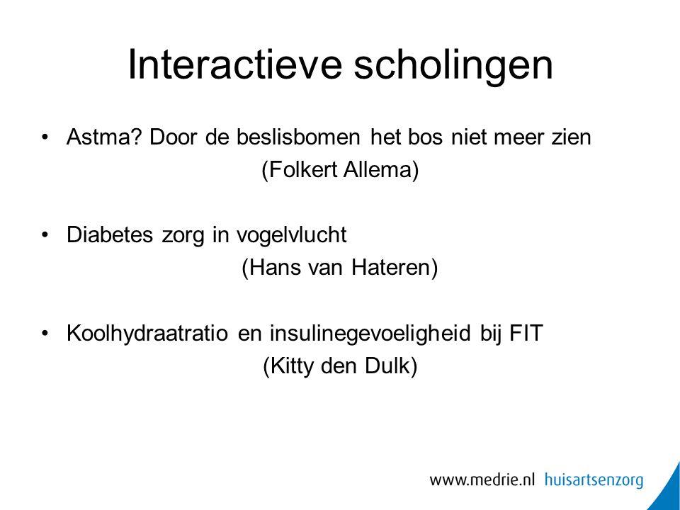 Interactieve scholingen Astma.