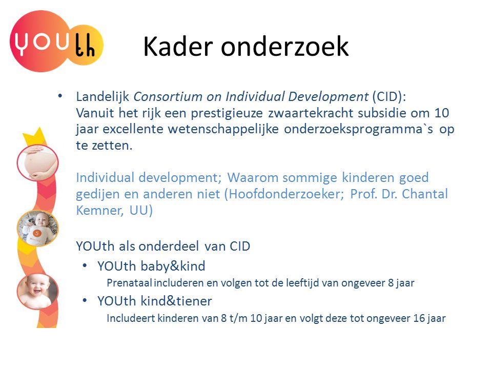 Kader onderzoek Landelijk Consortium on Individual Development (CID): Vanuit het rijk een prestigieuze zwaartekracht subsidie om 10 jaar excellente we