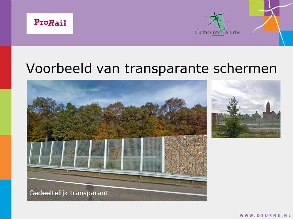 Voorbeeld van transparante schermen Schanskorf met natuursteenkeien Gedeeltelijk transparant