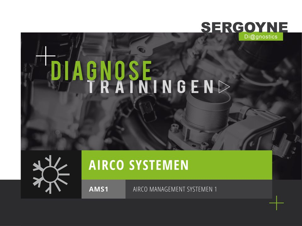 AMS1AIRCO MANAGEMENT SYSTEMEN 1 DIAGNOSE & SERVICE + KLANTSERVICE Klachten met betrekking tot ontoereikend vermogen van de airco.