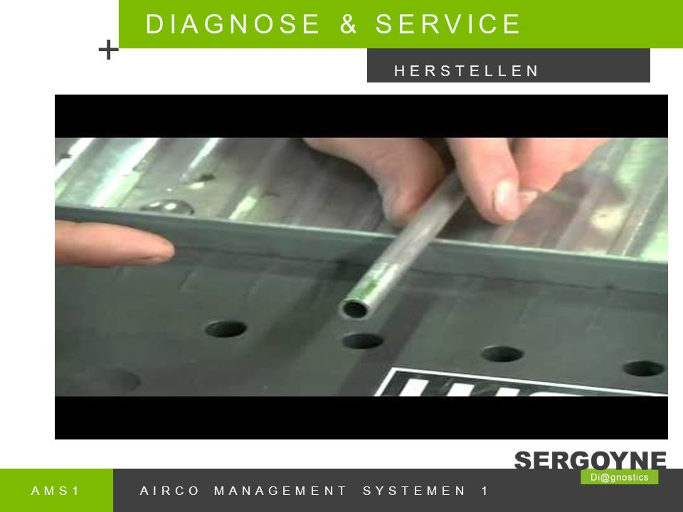 AMS1AIRCO MANAGEMENT SYSTEMEN 1 DIAGNOSE & SERVICE + HERSTELLEN