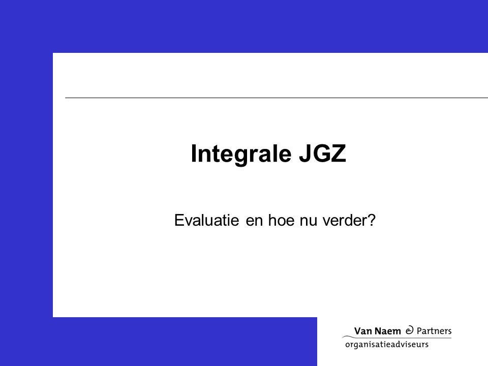 Integrale JGZ Evaluatie en hoe nu verder