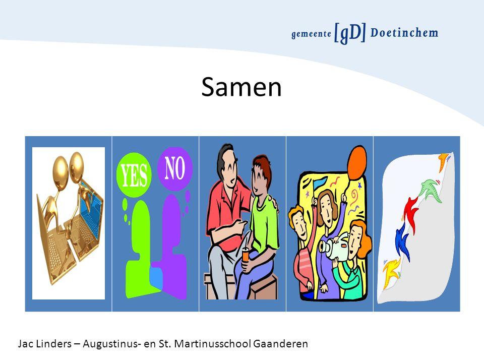 Samen Jac Linders – Augustinus- en St. Martinusschool Gaanderen