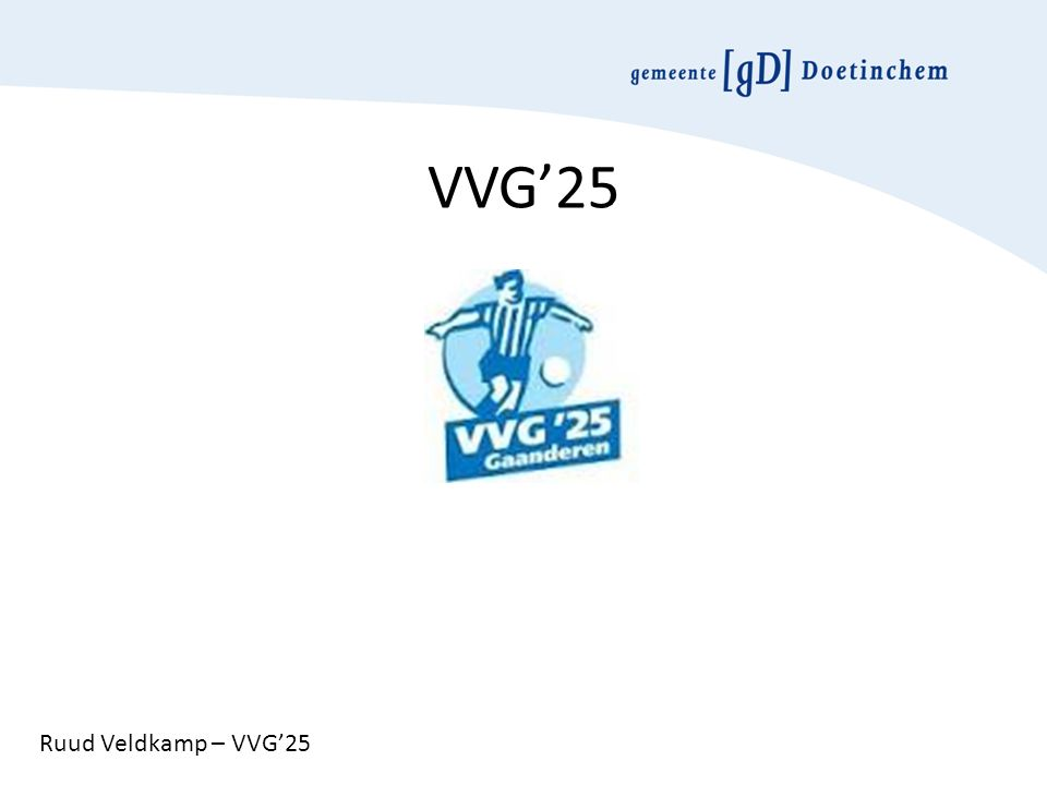 VVG'25 Ruud Veldkamp – VVG'25