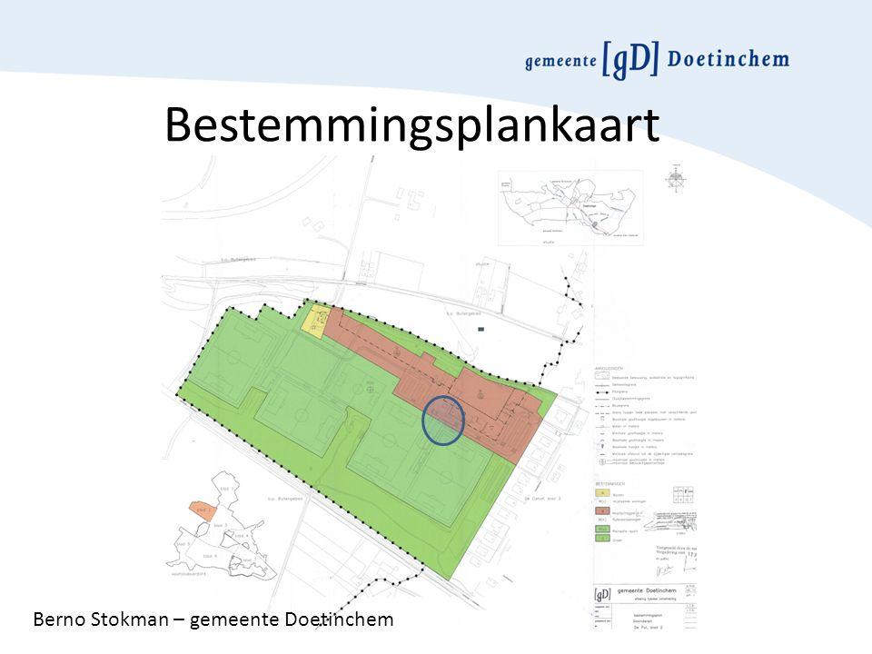 Bestemmingsplankaart Berno Stokman – gemeente Doetinchem