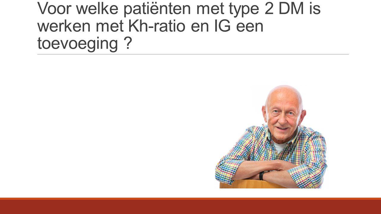 Stelling : kennis van Kh komt elke DM patiënt, POH en HA van pas