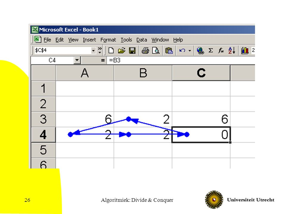Algoritmiek: Divide & Conquer26