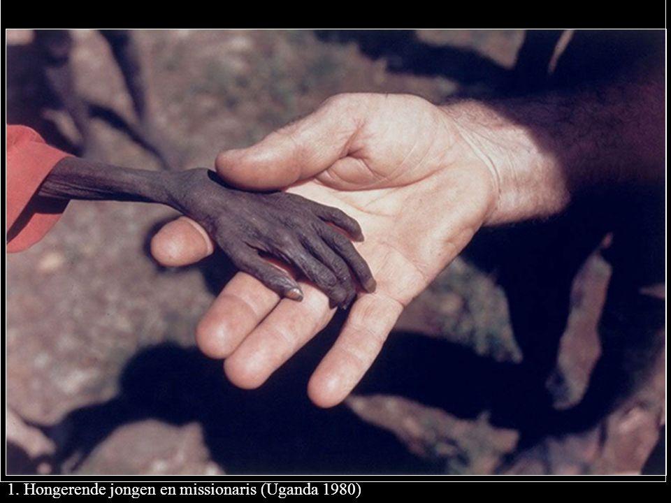 1. Hongerende jongen en missionaris (Uganda 1980)