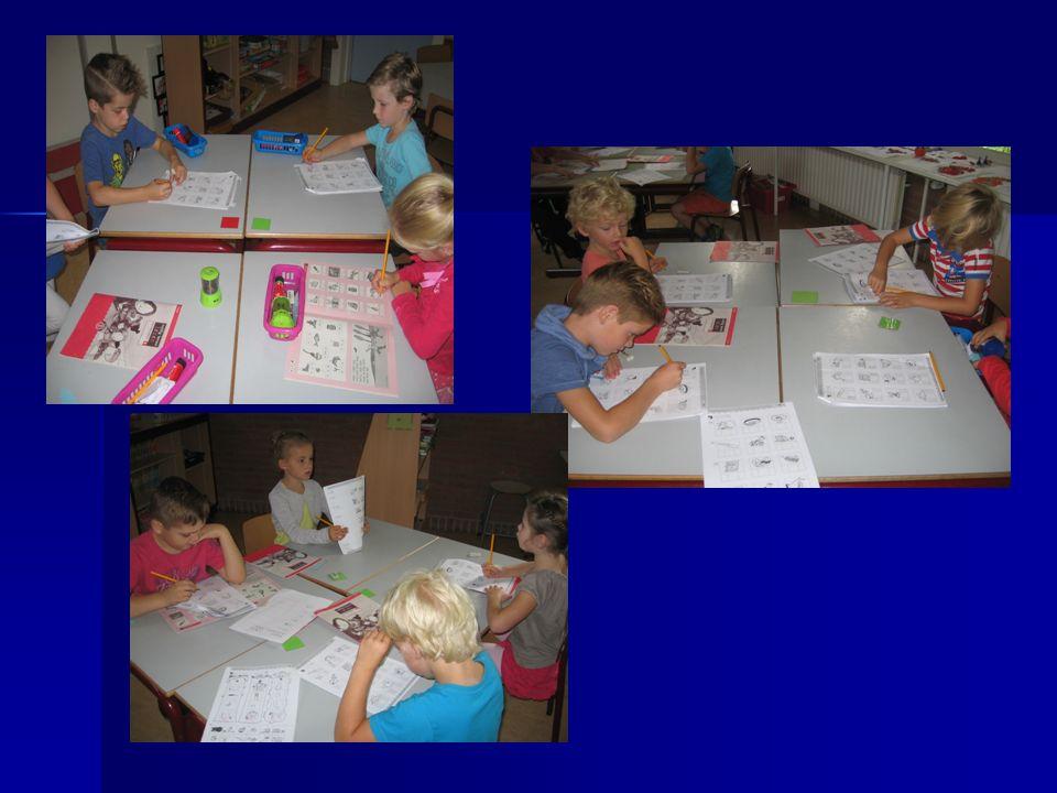 Verschillende groepen in de klas (Directe instructie) De maan-groep; lln.