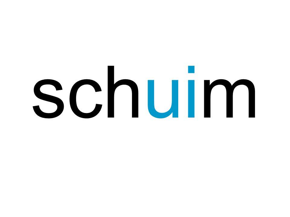 schuin