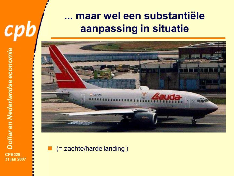 Dollar en Nederlandse economie CPB329 31 jan 2007...