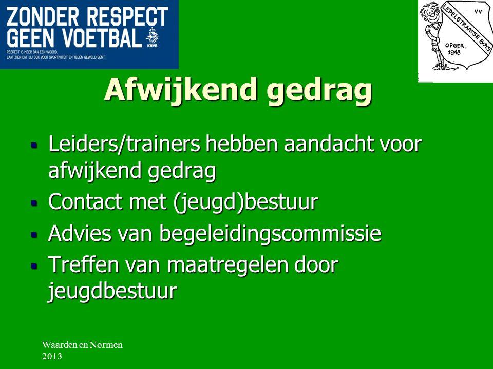 Hoofdregels VV Lepelstraatse Boys  Toon  Toon respect naar tegenstander, supporter en arbitrage.