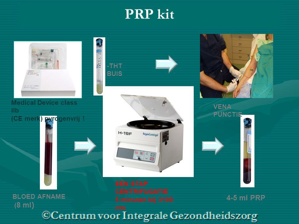 BLOED AFNAME ( 8 ml ) Medical Device class IIb (CE merk) pyrogenvrij .