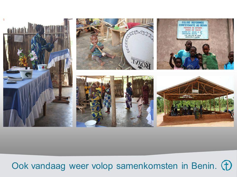 Ook vandaag weer volop samenkomsten in Benin.