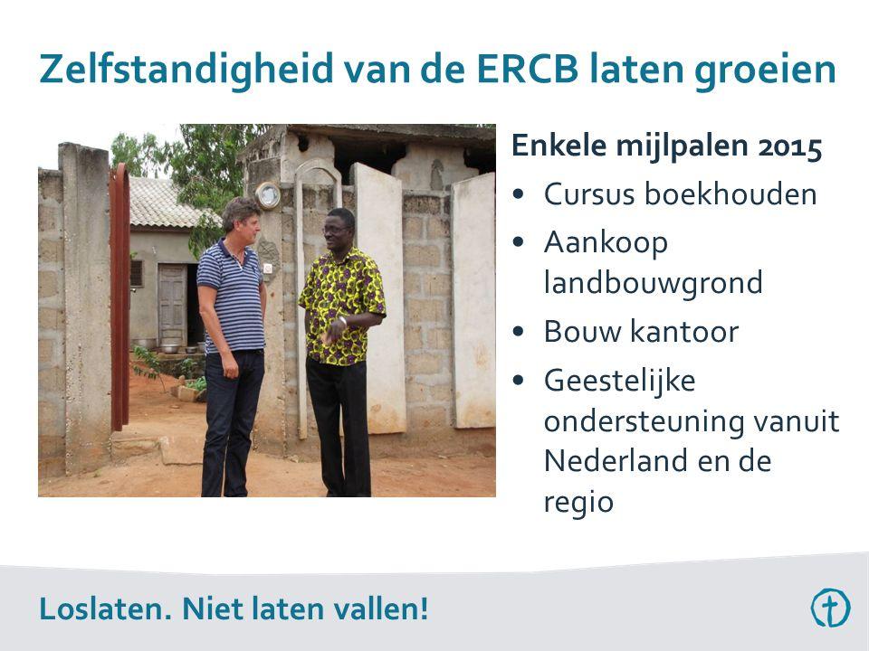 Zelfstandigheid van de ERCB laten groeien Loslaten.