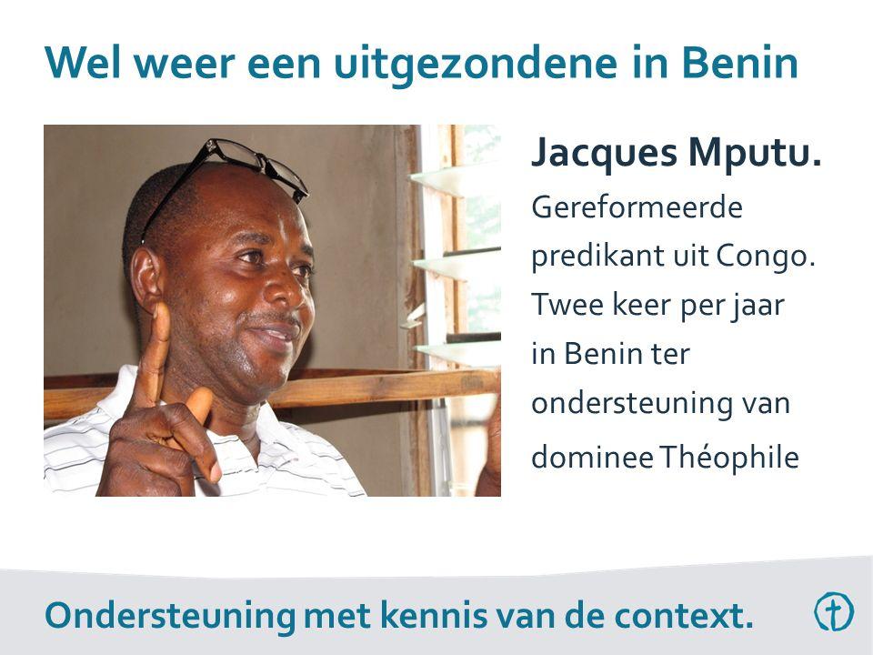 Jacques Mputu. Gereformeerde predikant uit Congo.
