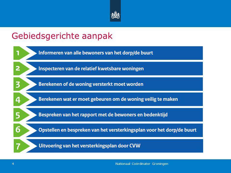 Nationaal Coördinator Groningen 4 Gebiedsgerichte aanpak