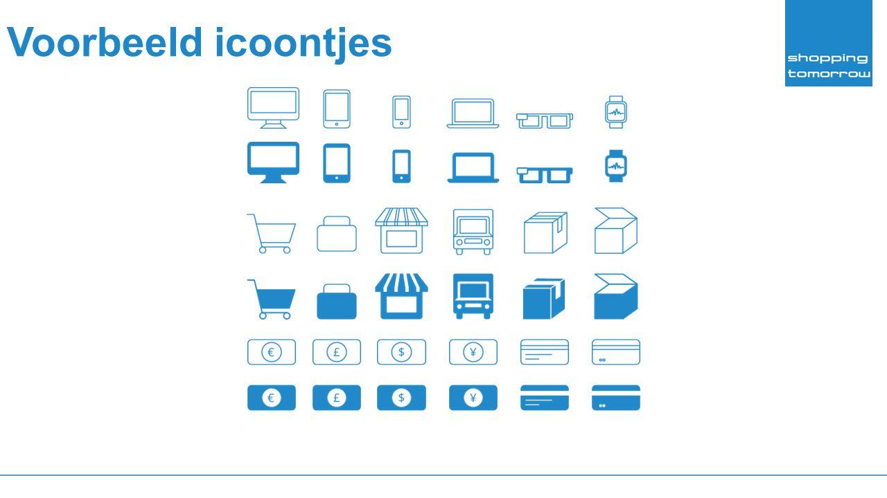 Voorbeeld icoontjes